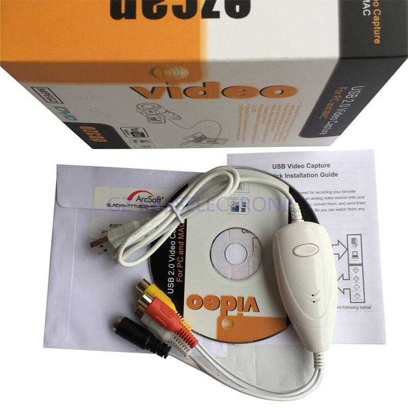 2017 nouveau convertisseur VHS vers DVD pour MAC PC, convertir vieux VHS, Hi8, caméscope vers ordinateur, livraison gratuite - 3