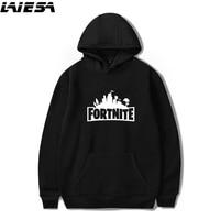 LIESA Fortnite Hoodie Sweatshirt For Women Men Hooded Pullover Oversized 4XL Hoodies Streetwear Hip Hop Male