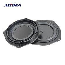 AIYIMA – haut-parleur avec radiateur de basses, 4 pouces, diaphragme de Vibration, passif, plaque de caisson de basses, bricolage