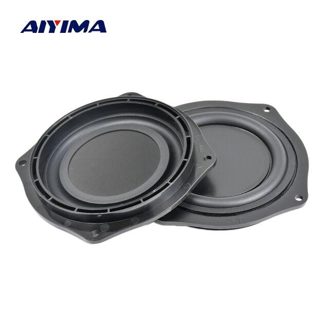 AIYIMA 4Inch Bass Radiator Speaker Vibration Diaphragm Passive Radiator Loudspeaker Passive Woofer Diaphragm Plate Subwoofer DIY