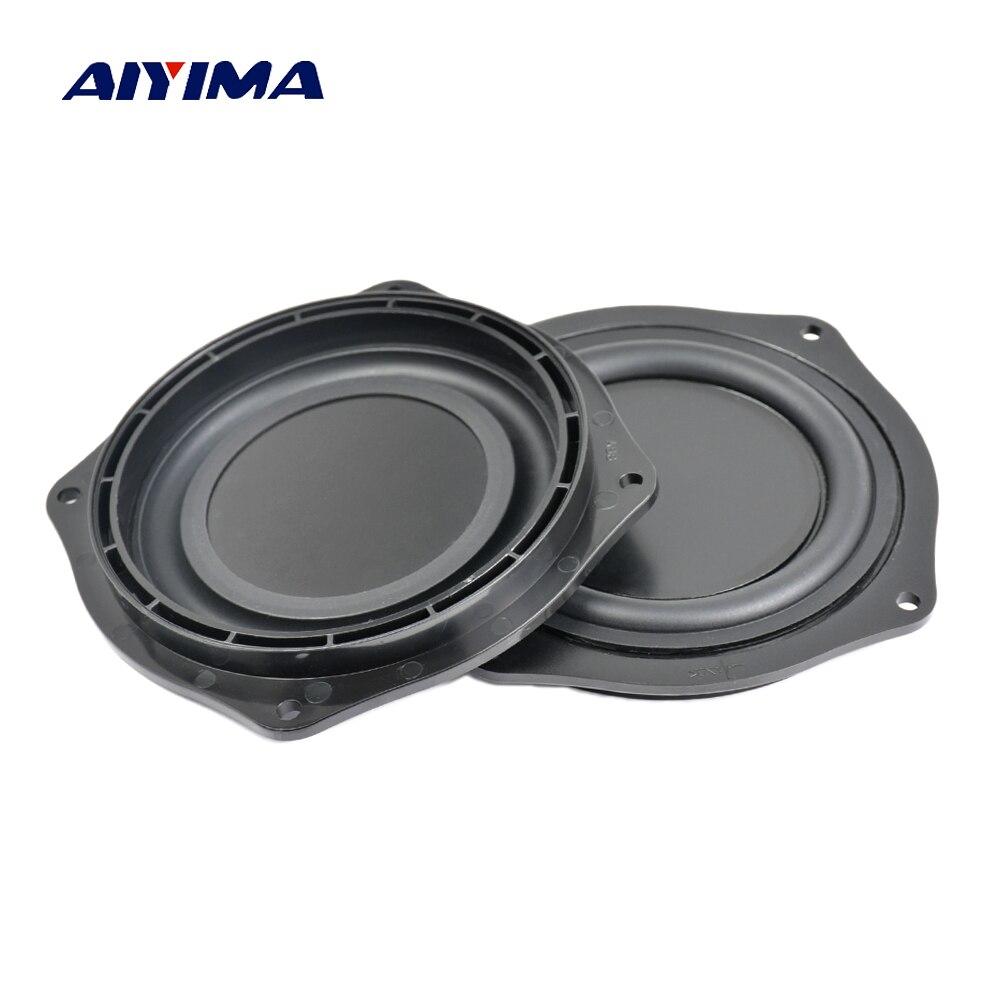 Aiyima 4Inch Bass Radiator Speaker Vibration Diaphragm Passive Radiator Loudspeaker Passive Woofer Diaphragm Plate Subwoofer DIY passive receiver