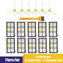 Escova lateral acessórios do filtro hepa substituição para irobot roomba 800 900 series 860 870 871 880 890 960 980 peças aspirador de pó