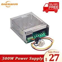Дедал 500 W Мощность шпинделя питания 220 V 110 V Mach3 6A 50/60 HZ шпинделя Мощность ЧПУ Регулируемая коммутации Мощность Gorverner
