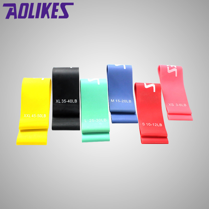 Fitness & Body Building Fitness Training Elastic Resistance Band Latex Yoga Bodybuilding Legs Power Gym Recovery Training Rubber Ring 3-50 Lbs A Great Variety Of Models