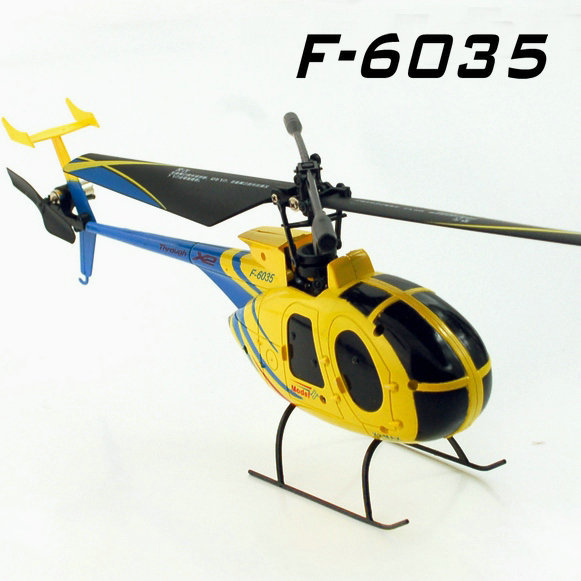 wholesale SanHuan SH6035 4CH 2 4G single blade remote control rc helicopter honey bee SH 6035