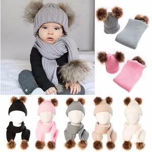 a90fc6f0ac2 Winter Puseky Infant Baby Boys Girls Knit Beanie Cap Warm