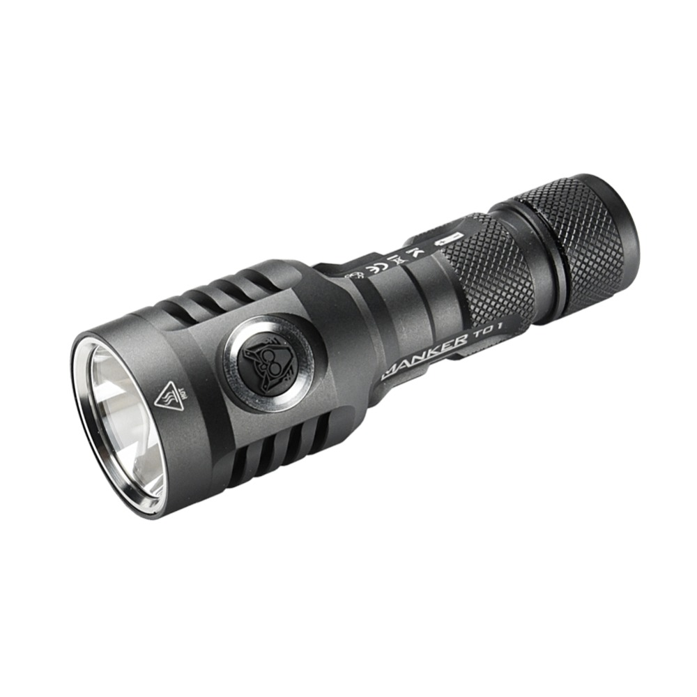 Manker T01 II 900 lumens Cree XP-L HI LED Flashlight Powerful Pocket Thrower EDC Torch Use 1x AA or 15400 Battery