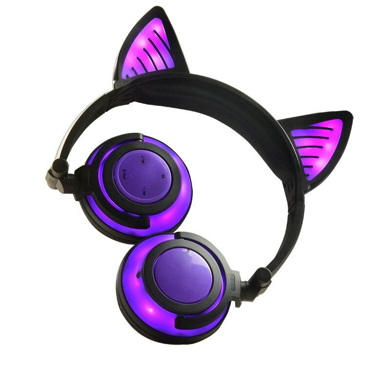 Bluetooth Headphones Bear Ear wireless headphones Handsfree gaming headset support active noise Canceling good kids headphones