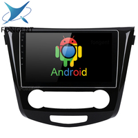 10.2 Android 8.0 Car Multimedia Player for Nissan X Trail Qashqail 2014 2017 Auto GPS Glonass Navigation Smart System DVR PC