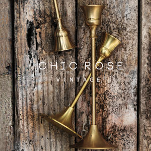 100%Brass-Materials Candlestick Table Home-Decoration Golden Diameter-2.3cm SML Hot High-Quality