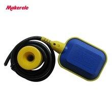 MK-CFS07 2 Meter New Cable Float Switch Liquid Fluid Water Pump Level NO/NC Controller Sensor Cable цена