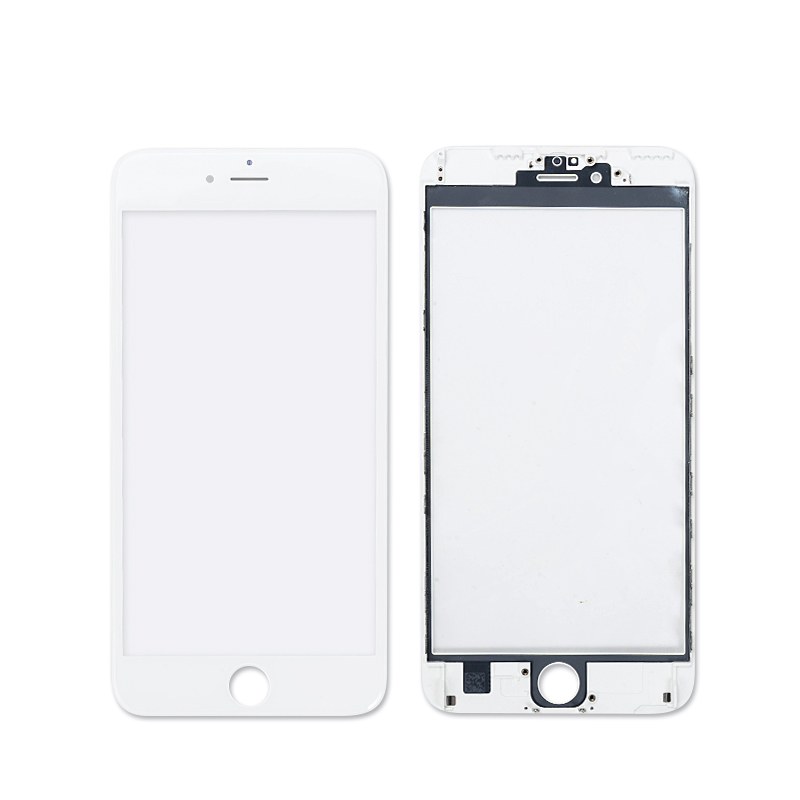 5.5 inch Glass for iPhone 6s plus Touch Screen LCD Front Touch Panel Glass Outer Lens Screen Digitizer+Frame Free Shipping
