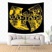 Wu Tang Clan стене висит Гобелены кровать Манта Йога Коврики пляжные Одеяло Кемпинг Коврики деревьев коврик