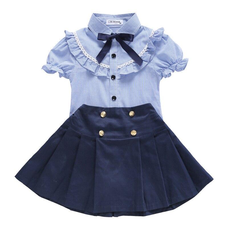 New Children's Uniform School Summer Clothes Elementary School Children's School Uniform Children's Short Sleeve Suit