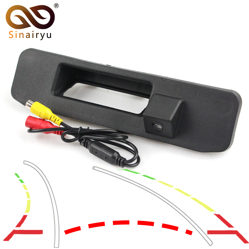 Dynamic trajectory Rear Camera Trunk Handle Camera For Mercedes Benz ML Class W164 For Mercedes Benz