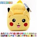 MAIHOO Pokomon Pikachu Children Gifts Kindergarten Boy Backpack Plush Baby School Bags Girls Teenagers Kid Plush Toy Bag mochila