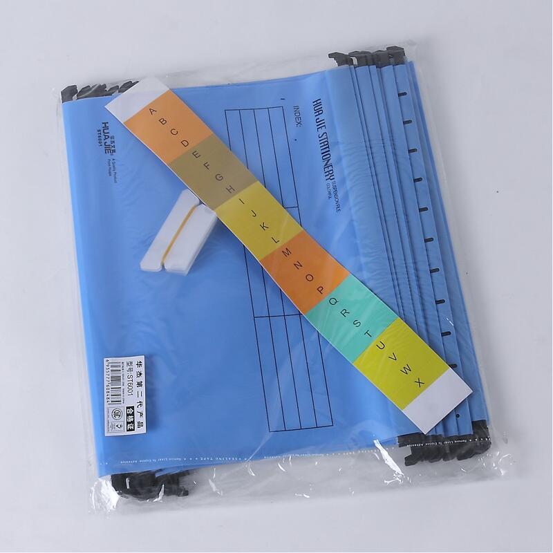 В виде бабочек, новинка, 12 шт./упак. A4 Экстра Ёмкость усиленный подвесных папок быстро подвесной зажим категория теги быстро найти для Бизнес для офиса - Цвет: Синий