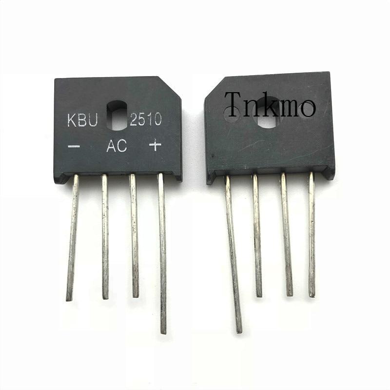 5PCS KBU2510 DIP 20A 1000V diode bridge rectifier new and original5PCS KBU2510 DIP 20A 1000V diode bridge rectifier new and original