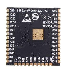 Image 2 - ESP32 WROOM 32U 4 mo 8 mo 16 mo mémoire Flash wi fi + BT + BLE ESP32 Module IPEX connecteur dantenne Espressif Original