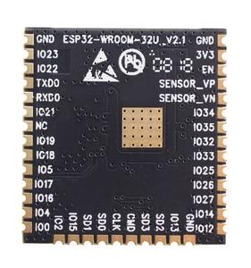 Image 2 - ESP32 WROOM 32U 4MB 8MB 16MB Flash bellek wi fi + BT + BLE ESP32 modülü IPEX anten konnektör Espressif orijinal