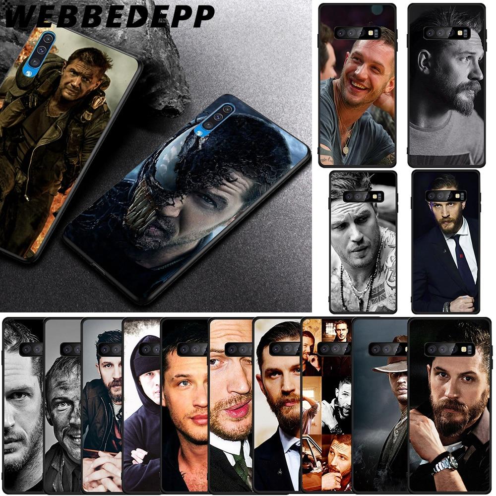 WEBBEDEPP Tom Hardy Soft TPU Case for Samsung Galaxy S6 S7 Edge S8 S9 S10 Plus S10e