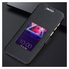 4d5333f0966 Para coolpad/LeEco Cool cambiador S1 teléfono móvil cubierta Flip PU cuero  ventana para coolpad. 5 colores disponibles