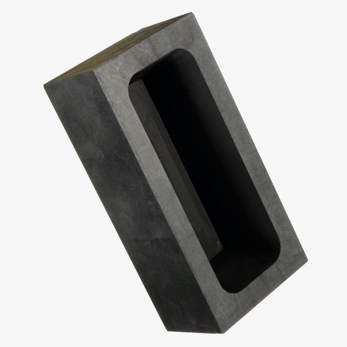 US $14 36 47% OFF|85oz Large Graphite Casting Ingot Mold for Gold Silver  Copper Melting Casting Refining Scrap Bar Crucible Tool Parts-in Tool Parts
