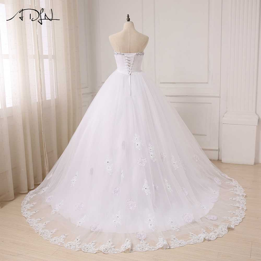 aaa3094ca2 Detail Feedback Questions about ADLN Pregnant Ball Gown Wedding .