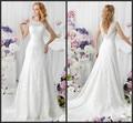 Amazing Overylay Lace Customer Made Corset Unique Back Wedding Dress