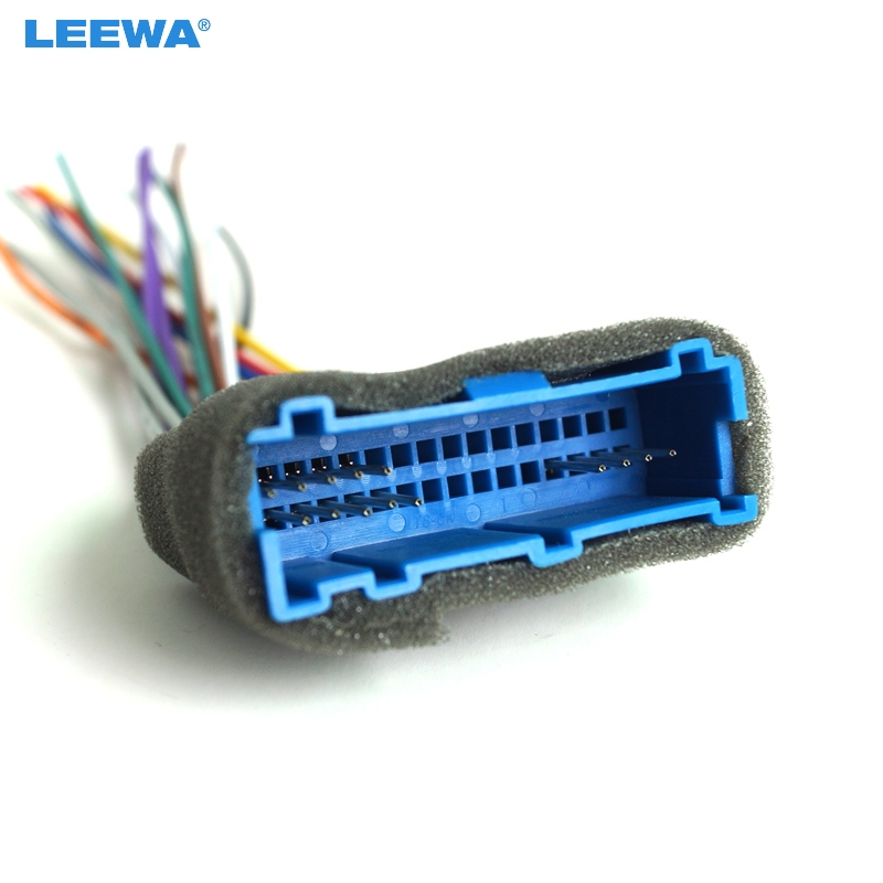 LEEWA Car Radio Audio Stereo Wiring Harness Adapter Plug For Buick Cadillac Pontiac Oldsmobile Aftermarket CD?crop=52900500&quality=2880 \u20a9leewa car radio audio stereo wiring harness adapter plug for buick