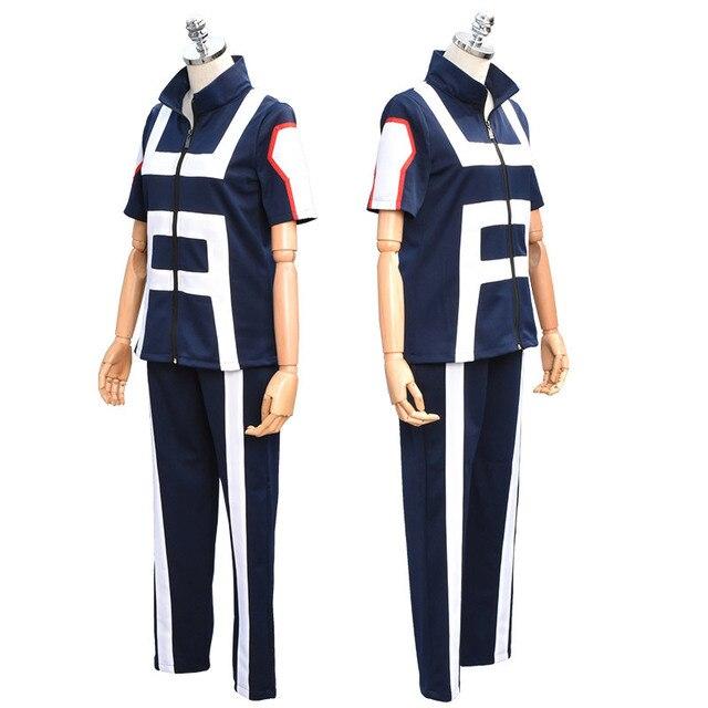 JP Anime Boku no héroe Bakugou Katsuki Iida Tenya Todoroki Shouto Cosplay  traje mi e522e9407aa9