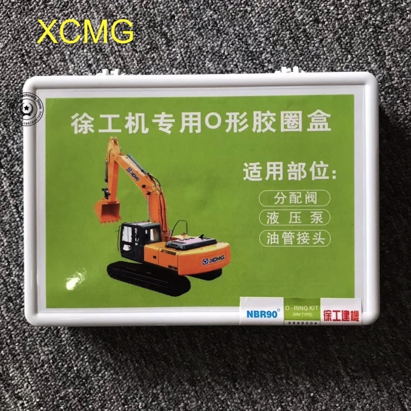 US $9 98 |Excavator parts XCMG boxed o ring xugong engineering machinery  Oring rubber seal repair box set repair box car accessories-in Engine
