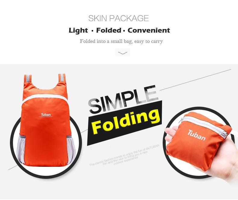 1c29114f83 18L Ultralight Foldable Fitness Sport Gym Bags Waterproof Cycling ...