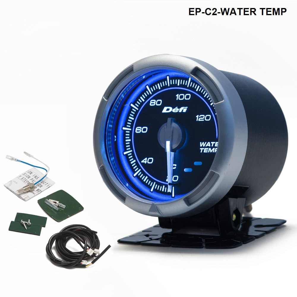 DF Link Meter ADVANCE C2 Water Temperature Gauge Blue For BMW E39 5 Series 97-03 EP-C2-WATER TEMP