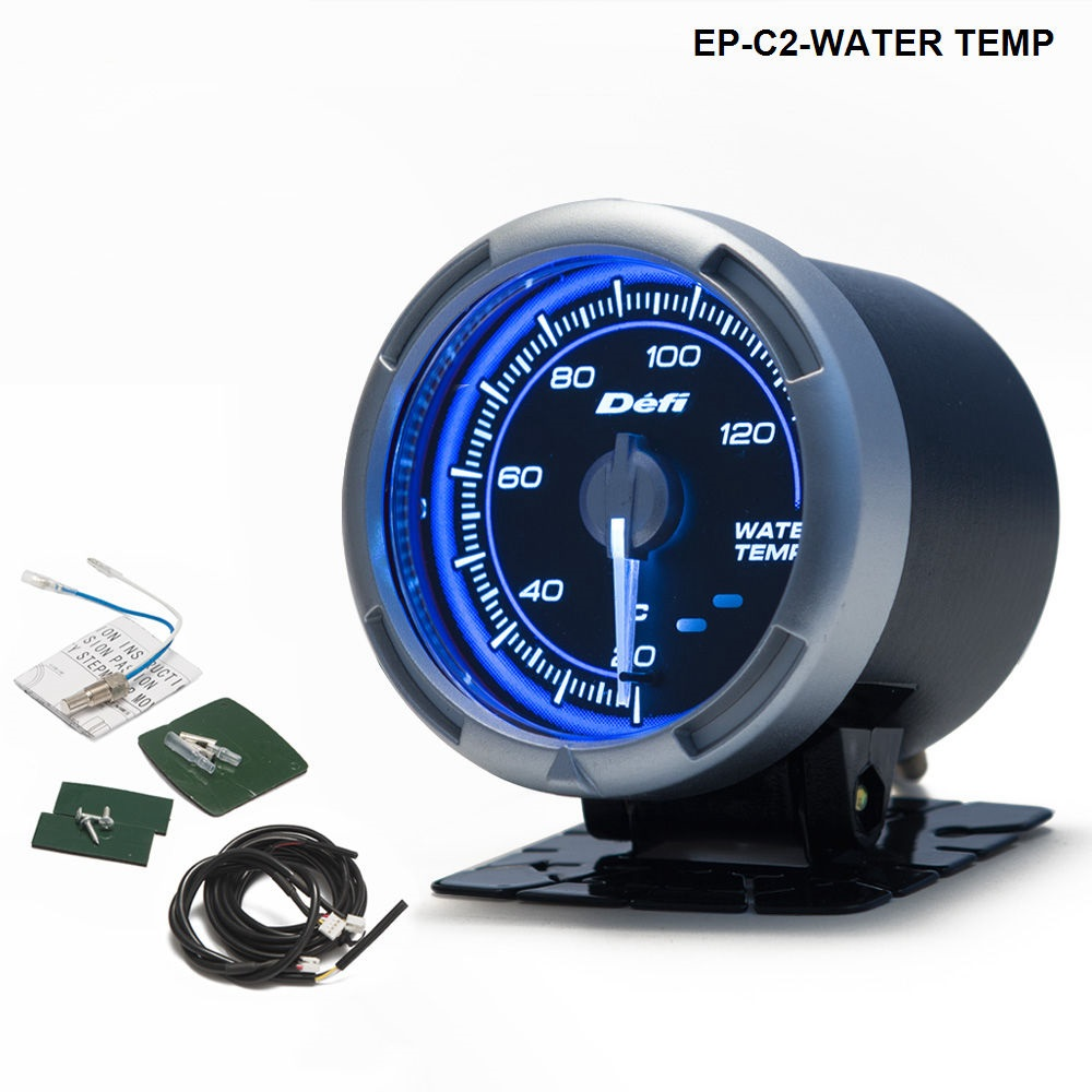 DF Link Meter ADVANCE C2 Water Temperature Gauge Blue For BMW E39 5 Series 97-03 EP-C2-WATER TEMP цены онлайн