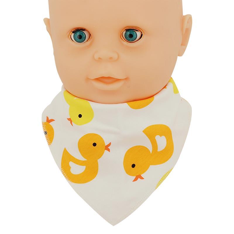 1Pcs Baby Bibs Feeding Stuff Girl Boy Soft Triangle Toddler Accessories For Newborns Cover Saliva Towel Random Color