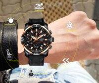 2019 LIGE Herren Uhren Top Brand Luxus männer Militär Sport Uhr Männer Casual Leder Wasserdicht Quarz Uhr Relogio Masculino-in Quarz-Uhren aus Uhren bei