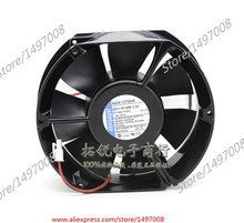 Free Shipping For ebmpapst 6424/12TDHR DC 24V 60W 2-wire 2-pin connector 100mm, 172x150x50mm Server Square fan