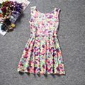 Happy Easter Gift Children Clothing Summer Sleeveless Girls Dress Knee Length Baby Girl Clothes Bunny Candy Princess Vestidos