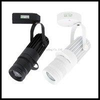 Industriële LED follow spot projector 3 W 7 W 10 W 15 W led plafondspots zwart wit tracking spot lamp 4 logo Projectie lamp