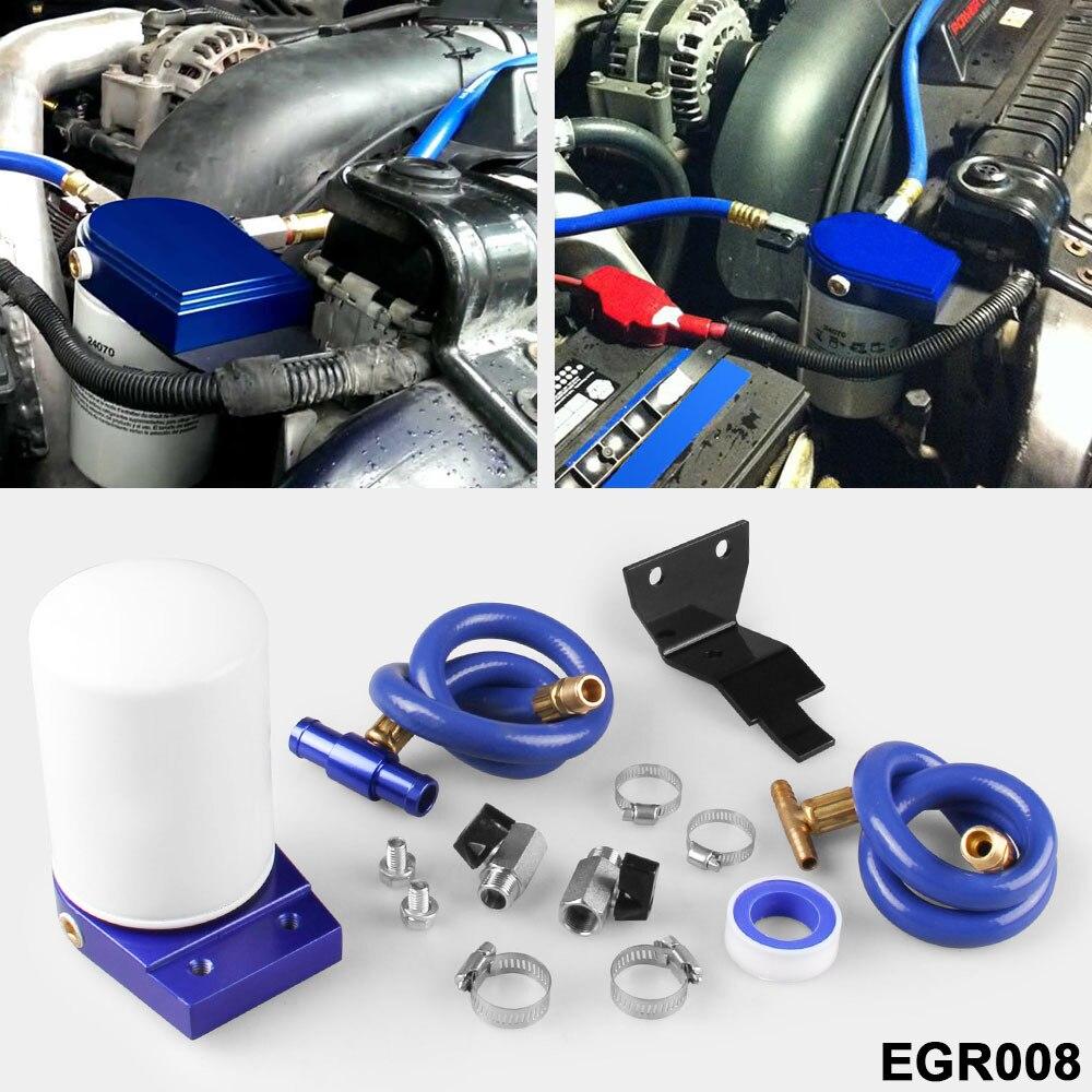 Système de filtration du liquide de refroidissement circulation des gaz d'échappement moteur diesel à course de puissance 6.0L