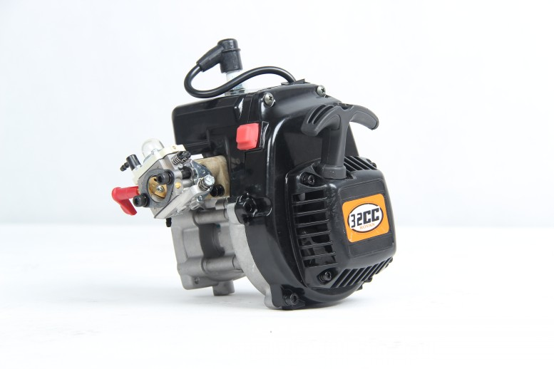 US $155 0 |Rovan 1/5 rc baja engine 32cc motor with easy start pull starter  81015 to fit for all ROVAN bajas and LT trucks-in RC Cars from Toys &