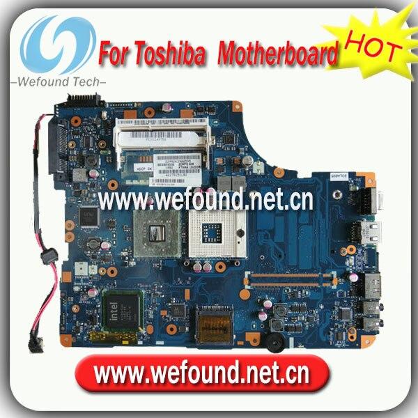 все цены на  100% Working Laptop Motherboard for toshiba K000092150 L500 L555 Series Mainboard,System Board  онлайн