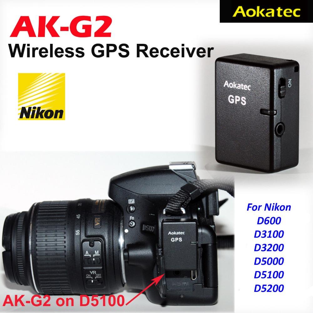 Prix pour Aokatec AK-G2 GPS Récepteur pour Nikon D610 D600 D3100 D3200 D5000 D5100 D5200