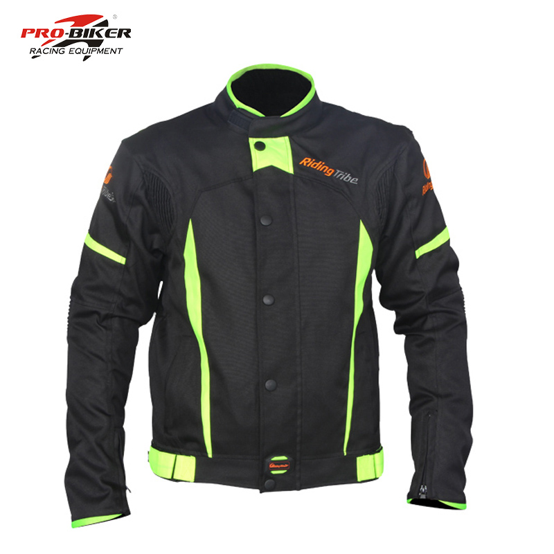 All climate motorcycle jackets detachable lining Men Blazer Motocross Protective Jacket Chaqueta Motorcycle Warm Sports clothing