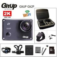 Free Shipping GitUp Git2 Novatek 96660 1080P WiFi 2K Sports Action Camera Remote Control Extra 1pcs