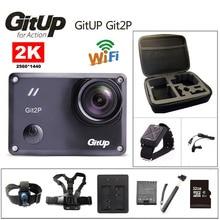 Экшн-камера deportiva оригинальный GitUp Git2P Новатэк 96660 удаленных Ultra HD 2 К Wi-Fi 1080 P 60fps go Водонепроницаемый pro Git2 P камера
