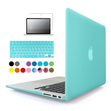 Zuandun mate caso duro de la cubierta para macbook air 11 13 pro 13 15 retina 12 13 bolsa de ordenador portátil de 15 pulgadas para macbook pro 13 caso