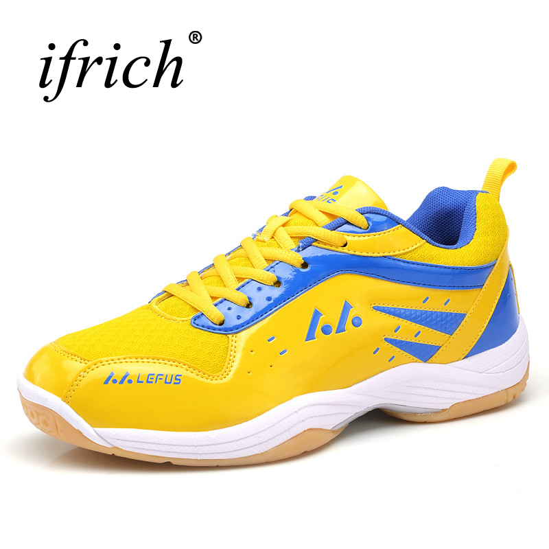 Professional Table Tennis Shoes Men Badminton Shoes Leather Indoor Court Shoes Breathable Training Sneakers Brand Trainers Men professional cushioning volleyball shoes unisex light sports breathable shoe women sneakers badminton table tennis shoes g364