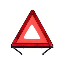 Folding Emergency Stop Car Failure Red Tripod Reflectors Strips Dangerous Triangle Safety Warning Signs Accessories